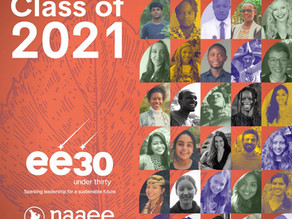 Global Schools Program Manager Recognized as EE 30 Under 30
