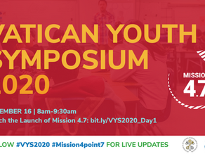 Mission 4.7 to be launched at the Vatican Youth Symposium