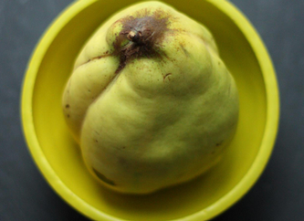 Heirloom at Home: Chef Schu's Quince Compote