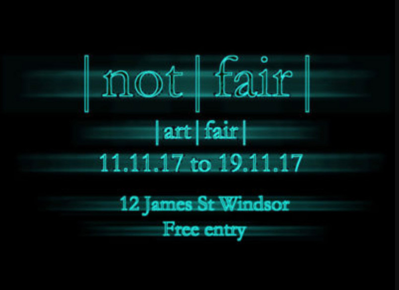 Excited to be in Not Fair opening soon!