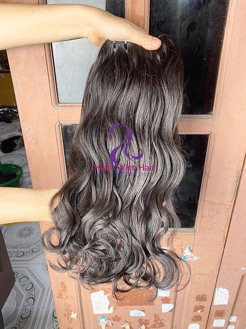 Natural wave hair - raw wave hair with 100% human virgin hair