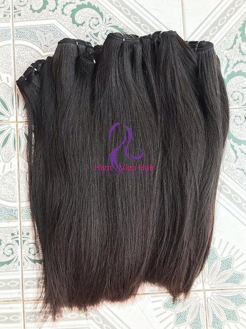 Silky straight hair - 100% human virgin hair