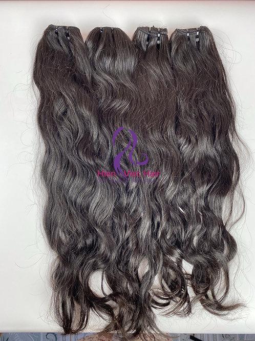 Raw wave hair - natural wave hair with 100% human virgin hair