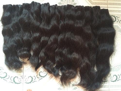 Natural super wave hair - 100% natural remy virgin hair - vietnam best hair