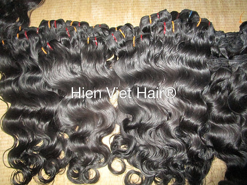 Soft and high quality body wave hair weft extensions
