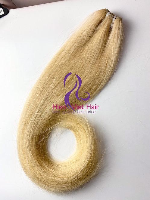 #613 blonde hair weave bundle with 100% human hair