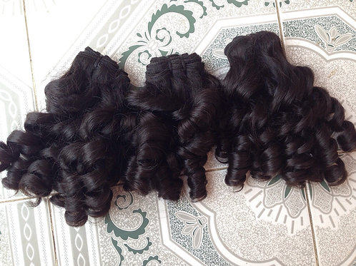 French curly virgin hair
