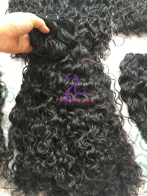 Burmese curly hair