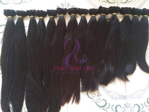 Vietnam high quality full end silky straight hair weaving