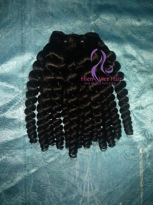 high quality double drawn malado curly hair - human hair