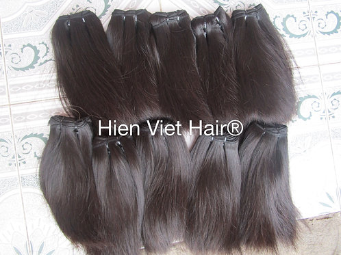 Natural silky straight hair - natural color hair- 100% virgin hair for wholesale