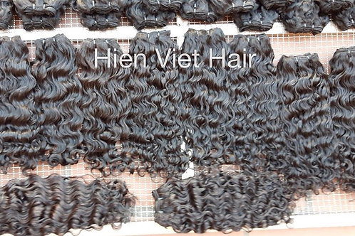 Higher quality loose curly hair weaves extensions- natural virgin hair only