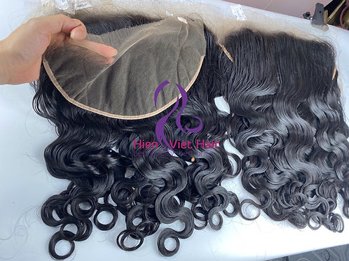 Body wave frontal with hdlace and 100% human hair - hair wholesale
