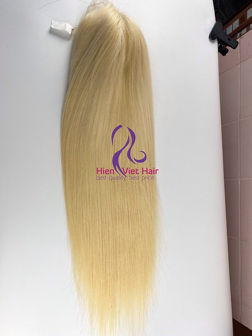Blonde wig - 13x6 lace front wig with hdlace and human hair