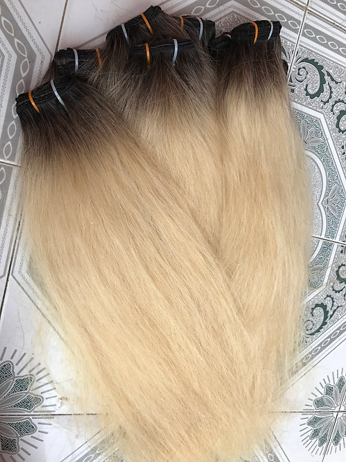 Ombré blond hair #2/#60