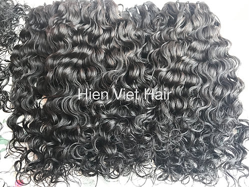 Burmese curly hair weave- best wholesale price-100%human hair