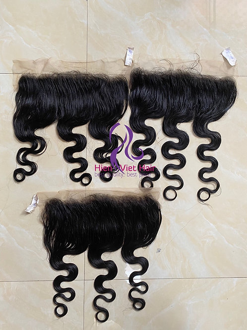 13x6 body wave frontal with 100% virgin hair and hdlace - hair factory