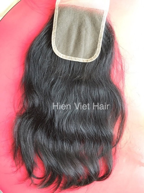 Highest quality 4x4 lace closure with virgin hair only