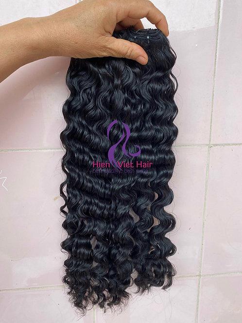 Loose curly hair bundles with 100% human virgin hair - hair wholesale