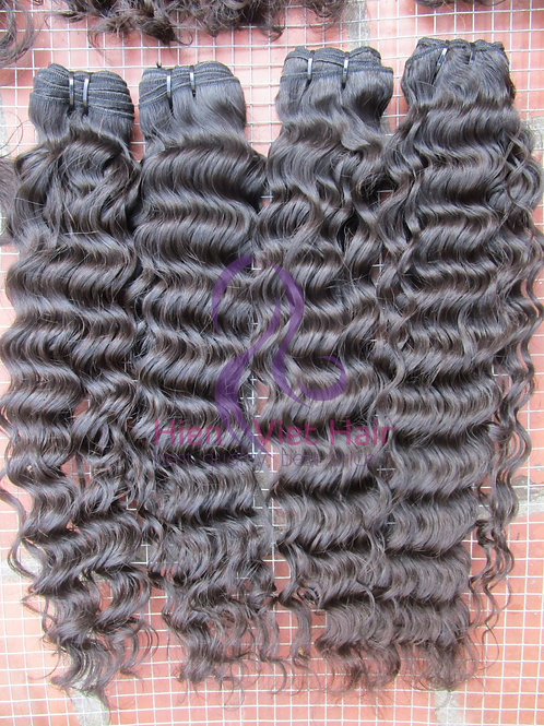 Deep wave hair - 100% human hair