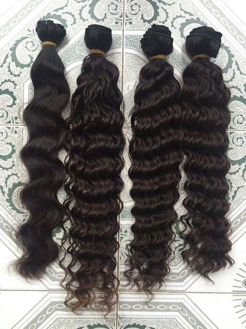 deep wave and body wave virgin hair