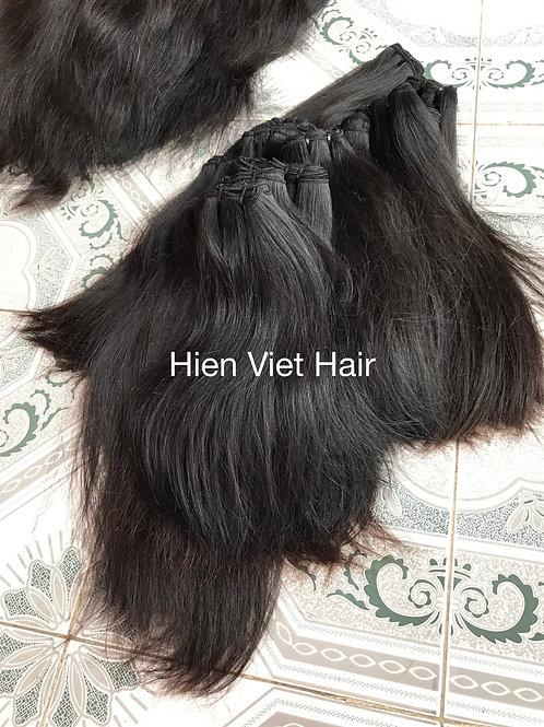 Natural silky straight hair extensions- 100% natural virgin hair