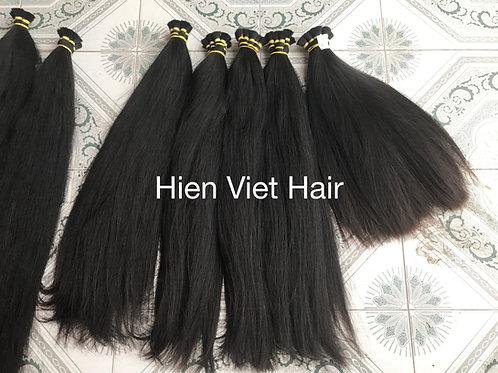 Silky straight bulk hair - 100% natural virgin hair