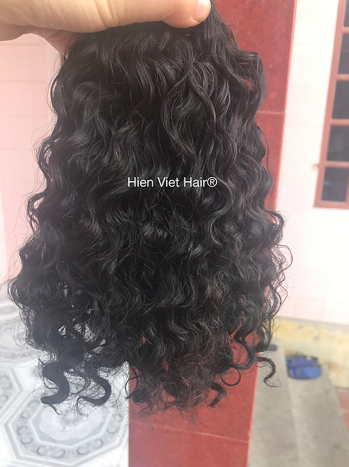 Natural curly- burmese curly hair weaves - best human hair extensions