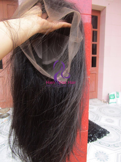 Silky straight full lace wig with 100% raw virgin hair - best wholesale price
