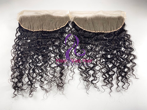 Curly hair frontal - 13x6 frontal with hdlace