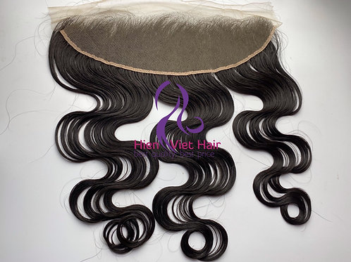 Body wave 13x4 lace frontal with 100% human hair
