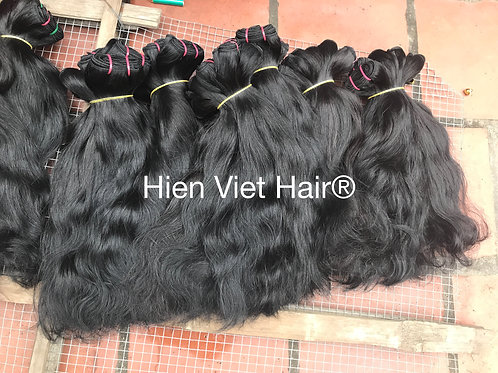 Natural wave hair - 100% human hair weave- best price for wholesale