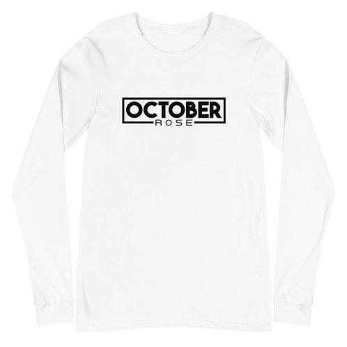 October Rose Unisex Long Sleeve Tee