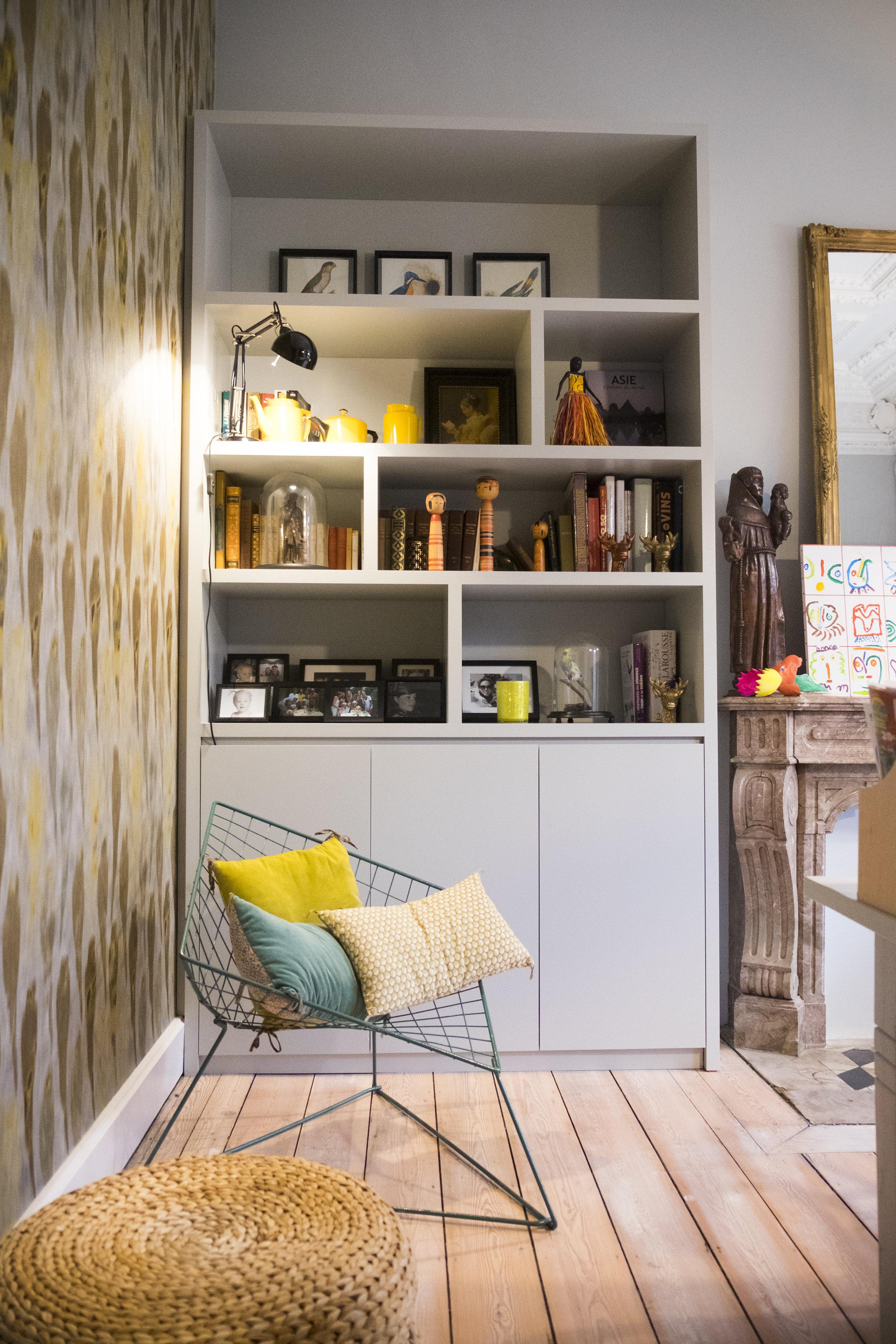papier peint mobilier bureau