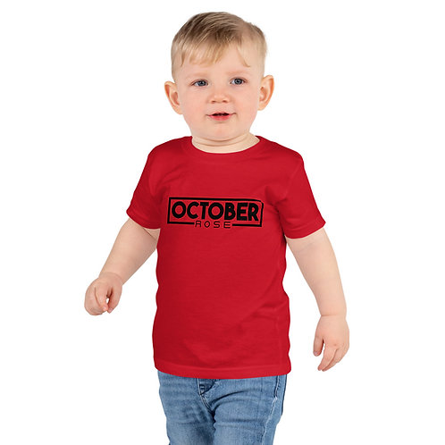 October Rose Youth Jersey T-Shirt