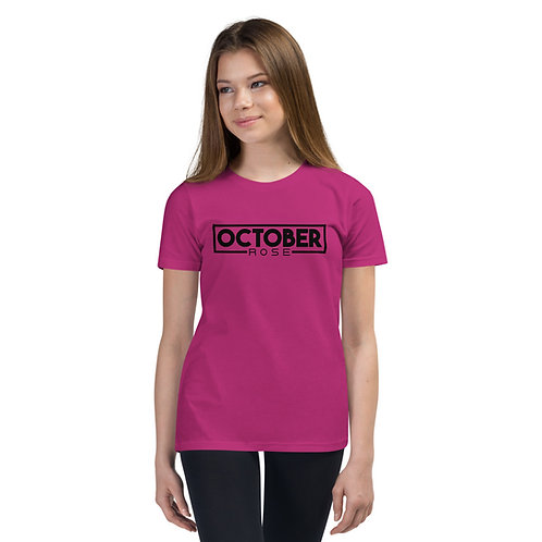 October Rose Youth Short Sleeve T-Shirt