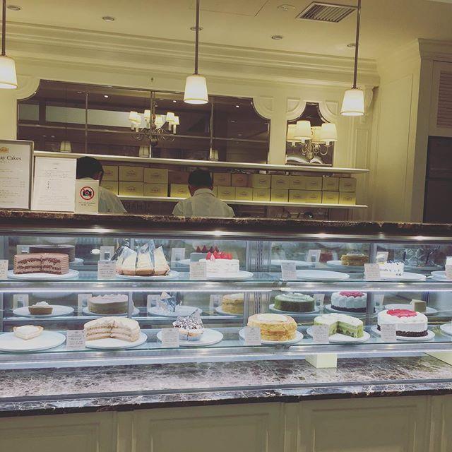 Lovely cake #withmylove #bestripever #japan #tokyo #ebisu #sweet #japanfood #travelfood