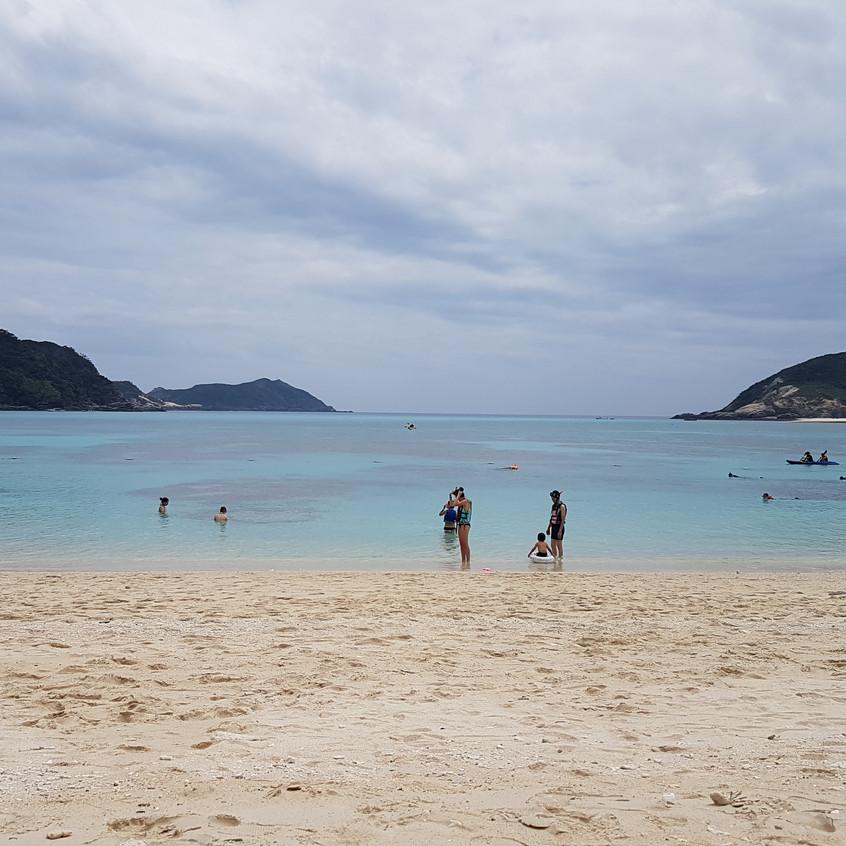 La magnifique plage de Tokashiki