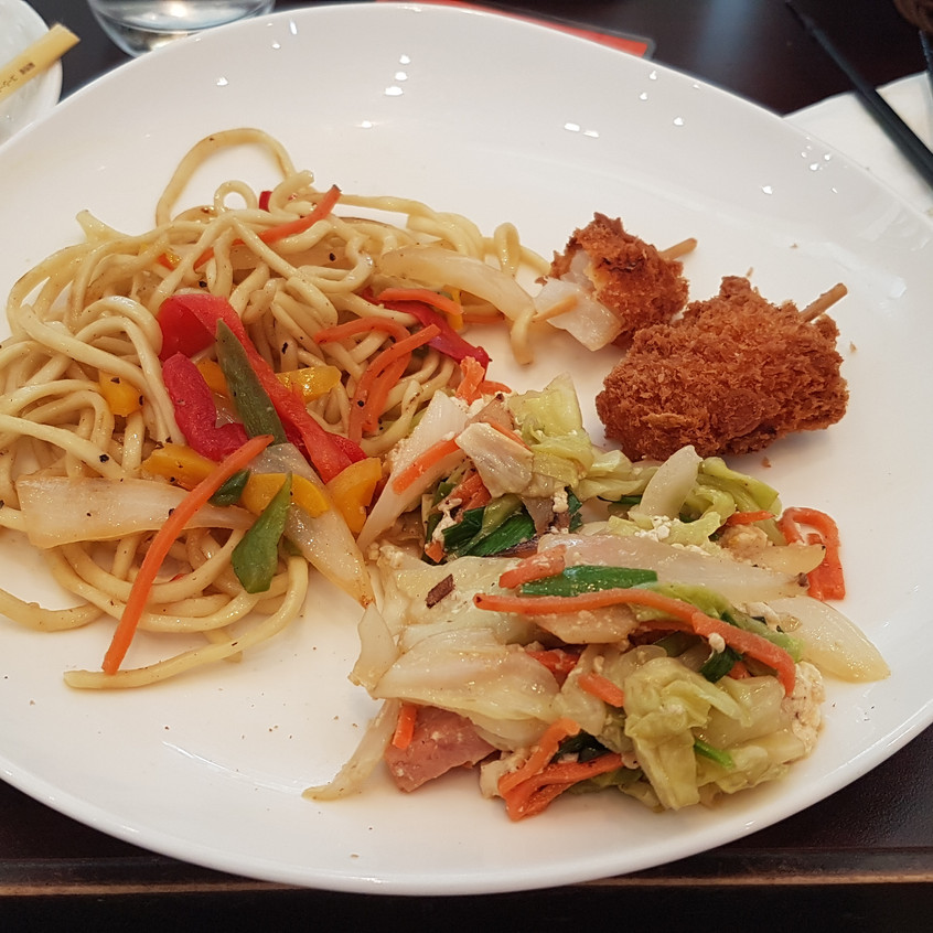 Petit déjeuner à okinawa