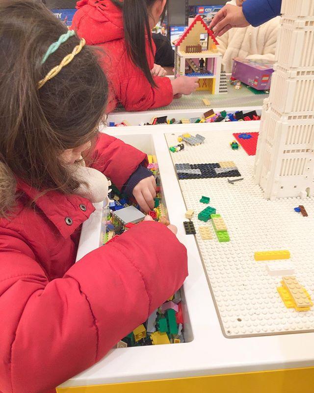 jouer au LEGO à Londres