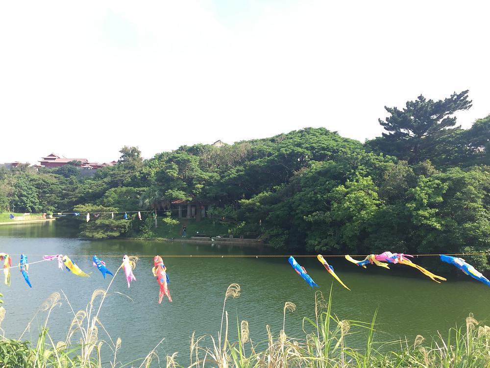 Le long de la rivière de Naha