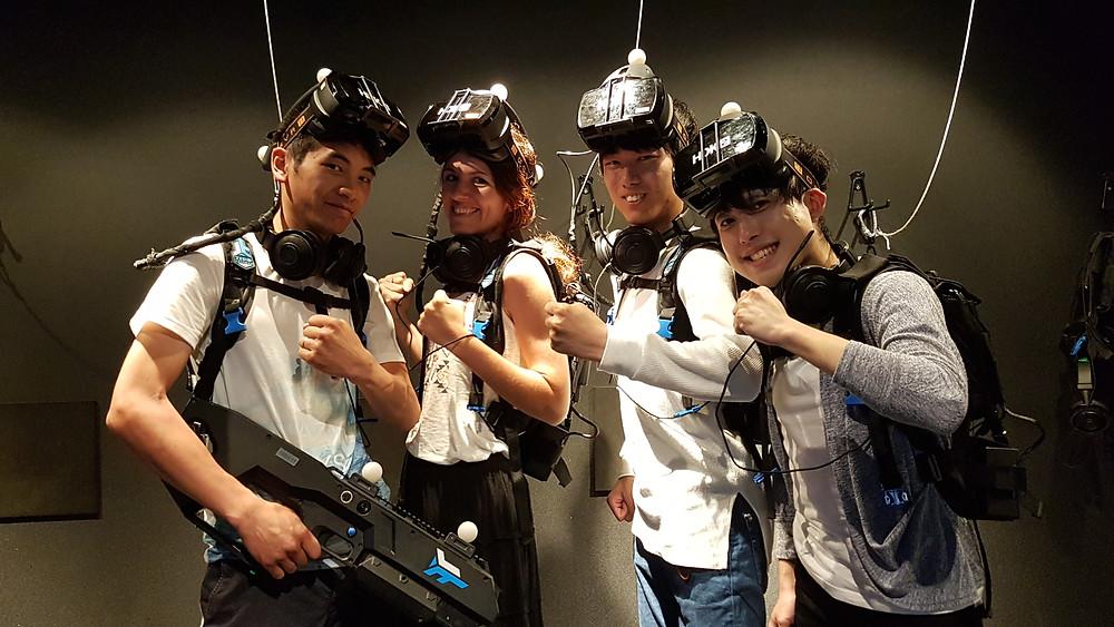 Team VR JOYPOLIS