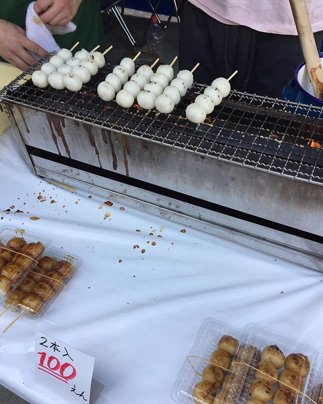 Petit festival japonais Et ses stands de nourriture 😋 #tokyo #travelfood #besttripever #withmylove #japan #japanfood #ikebukuro