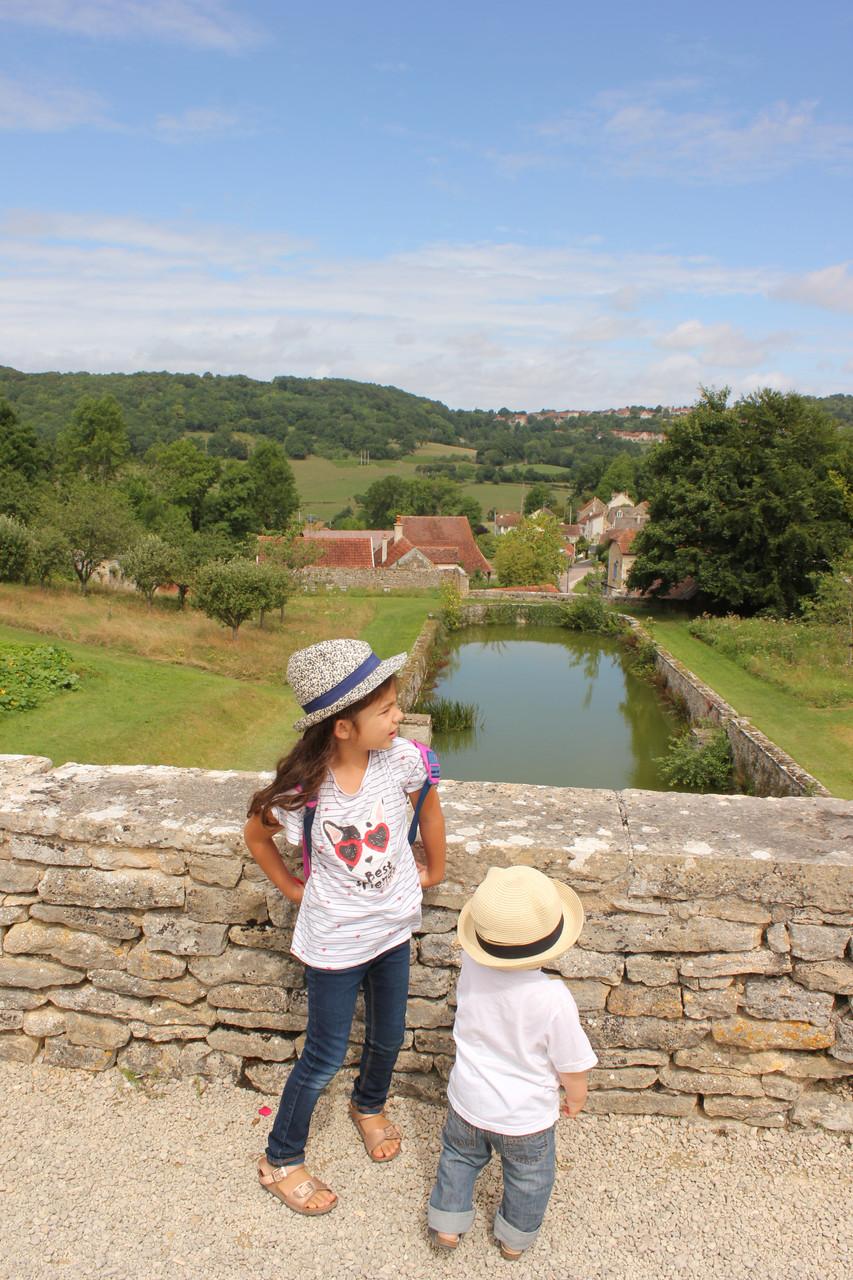 Les jardins du château Bussy Rabutin