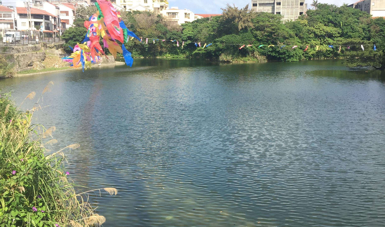 Le long d'une rivière Okinawa