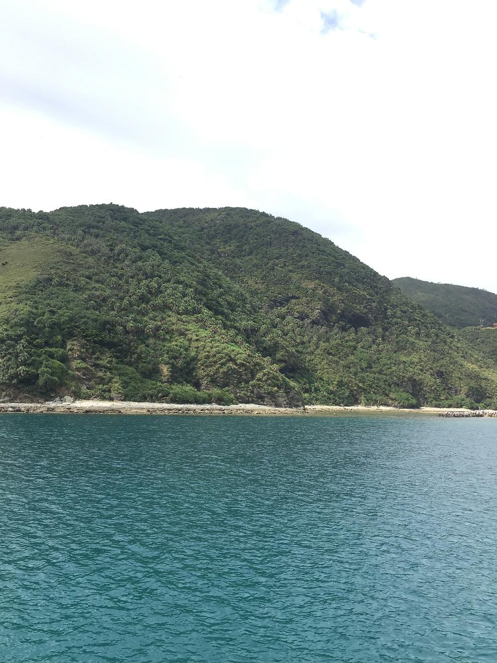 Arrivée sur l'île de Tokashiki Okinawa