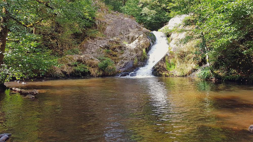chute d'eau en Bourgogne