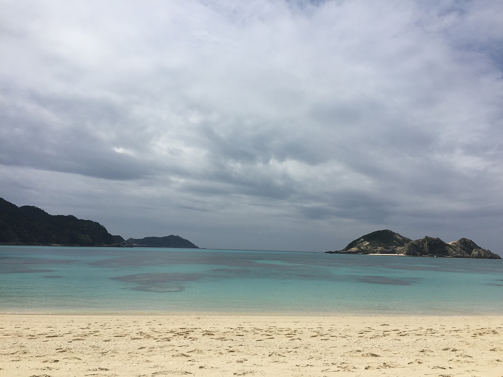 Tokashiki, aharen beach un coin de paradis