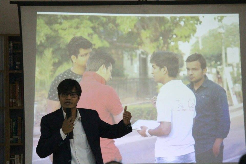 Session at Shaheed Bhagat Singh Col.