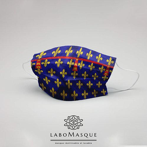 Masque barrière Drapeau Artois - Masque en tissu alternatif